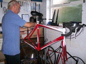Mick from Towcester Cycle Servicing